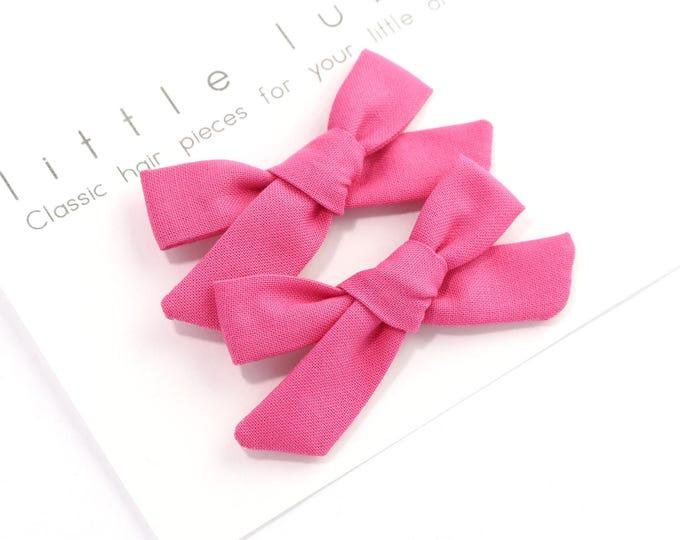 BARBIE Schoolgirl Bows // Pigtail Set