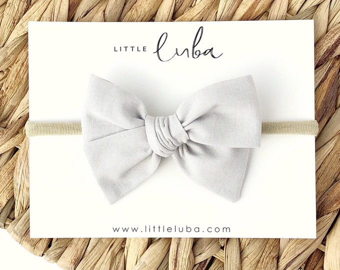 Light grey // Sailor bow