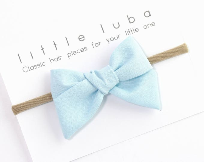 Baby Blue // Sailor bow