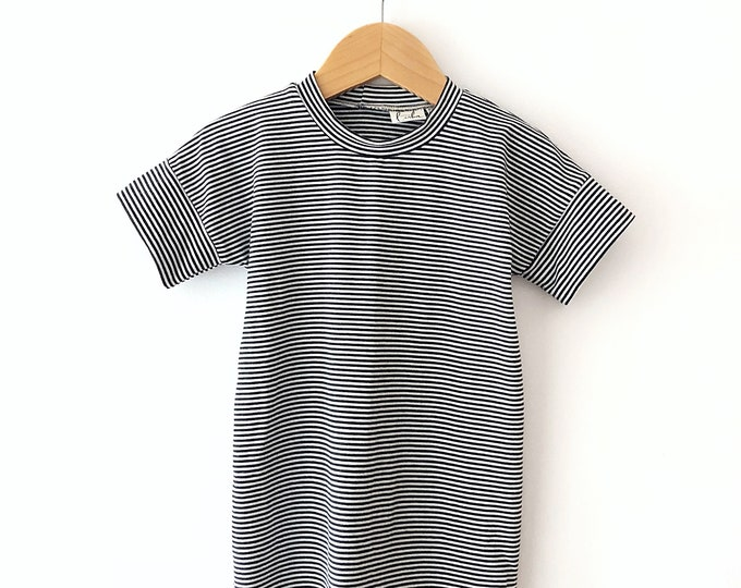 Stripe T-dress