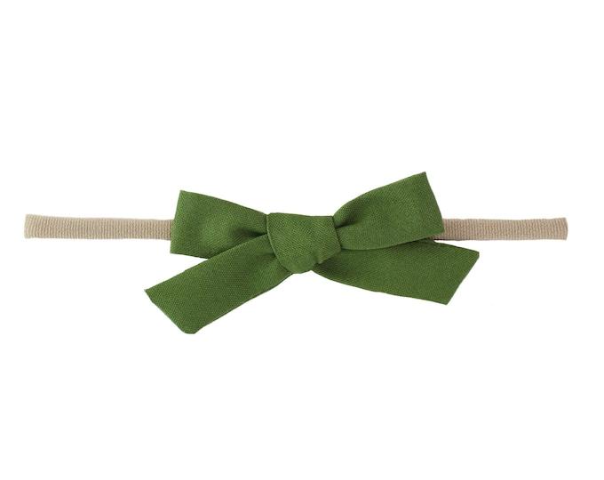 Olive // Schoolgirl Bow