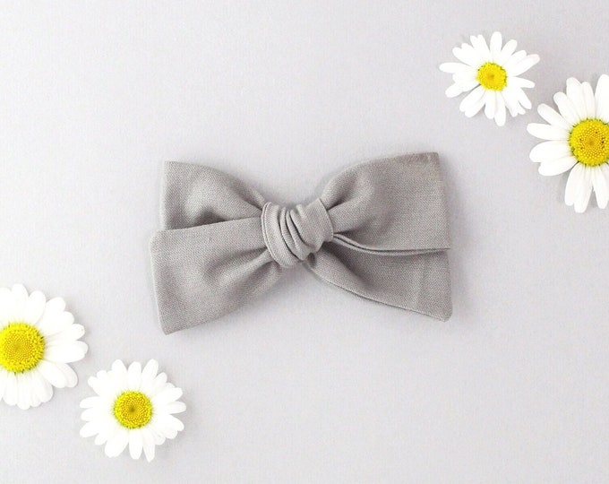 Grey // Sailor bow