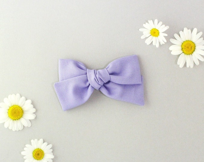 Lilac // Sailor bow