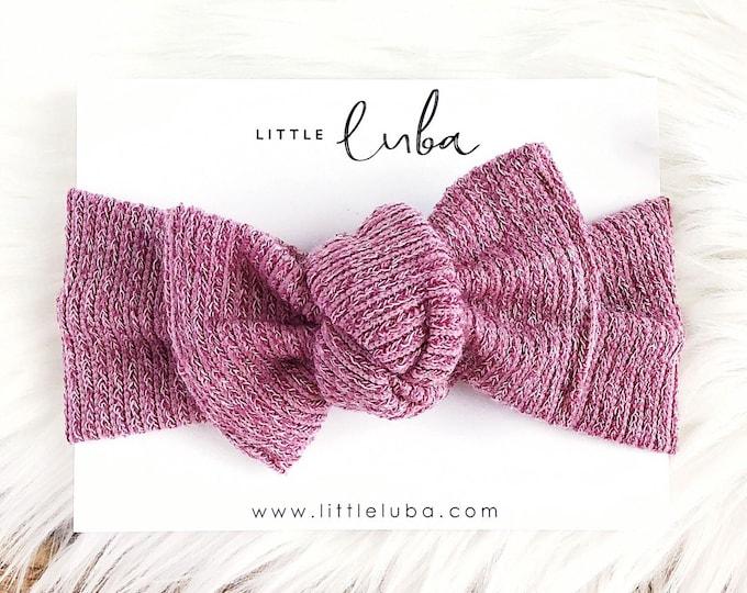 Knit Blush // Headwrap
