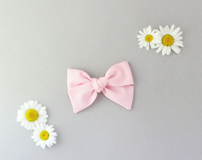 Baby Pink // Sailor bow