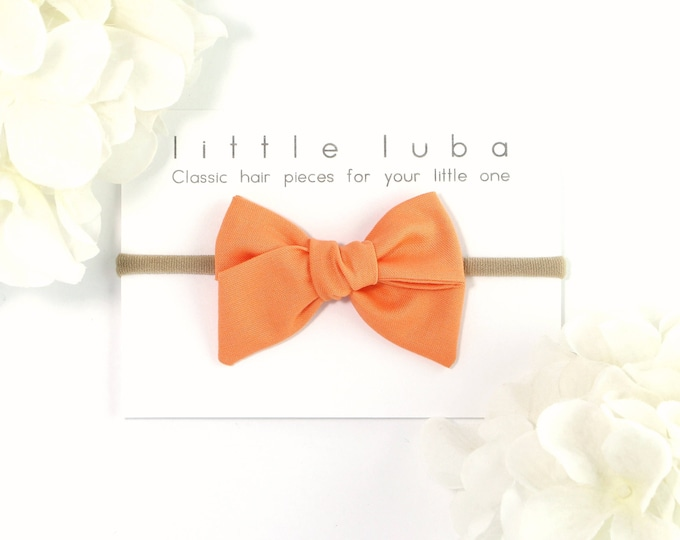 Orange  // Sailor bow