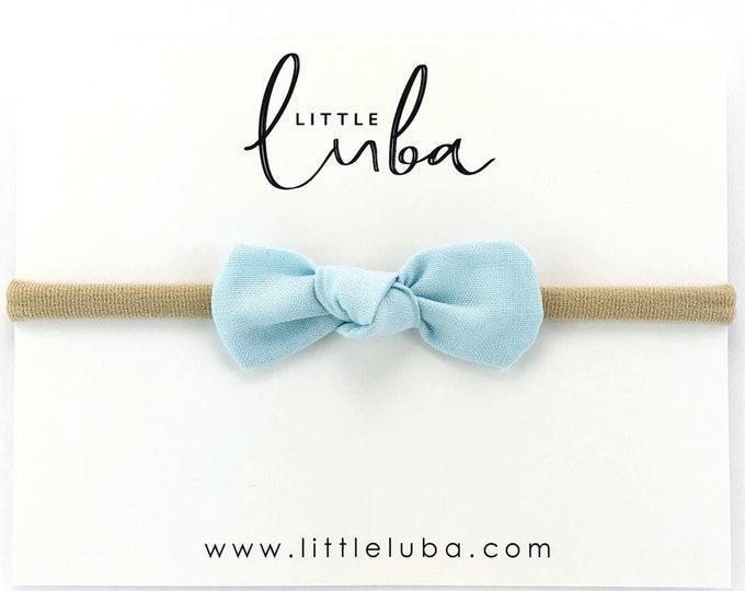Baby Blue // Mini Knot