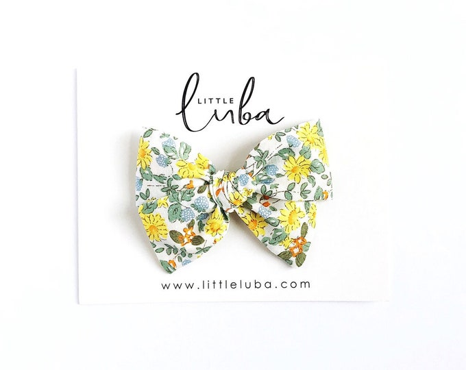 Daisy floral  // Sailor bow