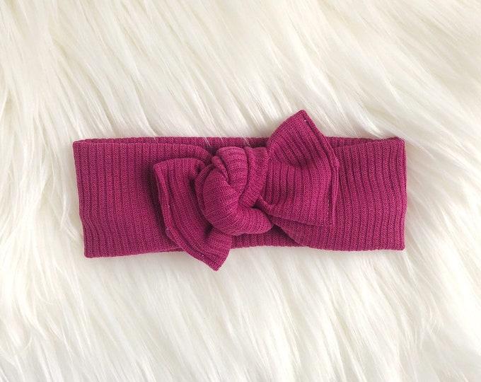 Wildberry rib // Headwrap