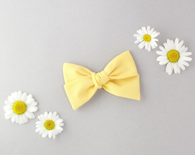 MUSTARD // Sailor bow