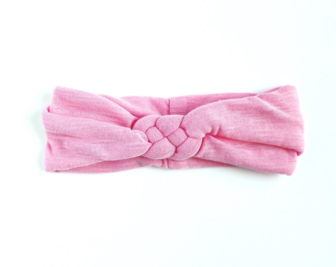 Pink || Celtic Knot Headwrap