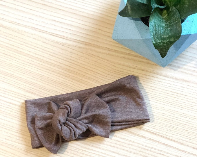 Walnut //  Headwrap