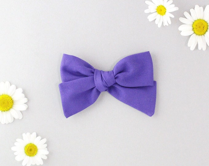 Purple  //Sailor bow