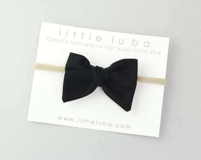 Black // Sailor bow