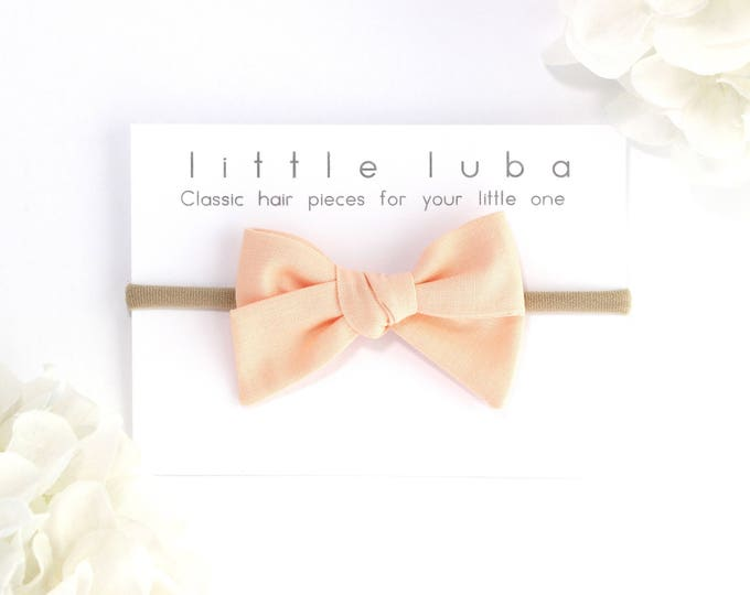 PEACH ICE  // Sailor bow