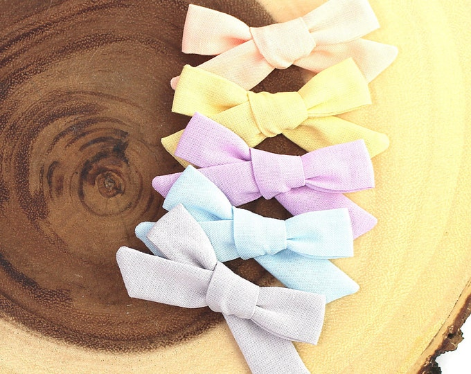 SET OF 5 Schoolgirl Bow