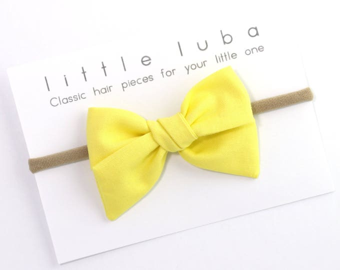 Yellow  // Sailor bow