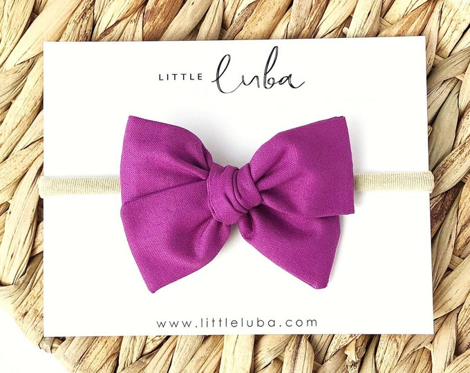 Wildberry // Sailor bow