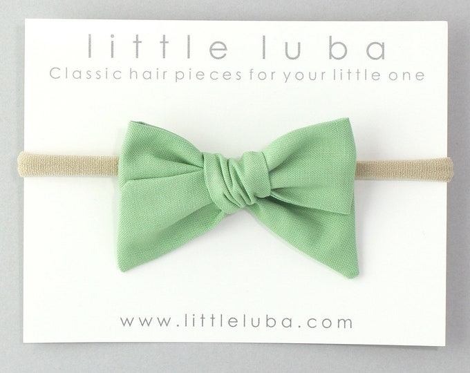 Green // Sailor bow