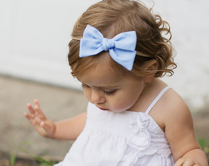 Periwinkle // Sailor bow