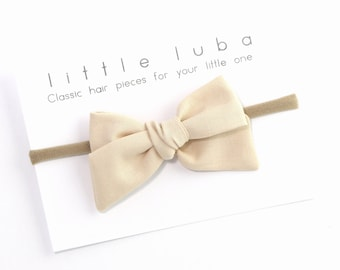 Baby Headbands, Baby Bows, Baby girl gift, Baby Bow, Baby Girl Bow, Baby Girl Headband, Newborn Headband, Baby Girl Bow . CREAM Sailor bow
