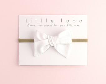 Bow headbands, baby bows, Headband, newborn headband, infant headband, baby hair bows, baby bow, girls bow headband, baby . WHITE Sailor bow
