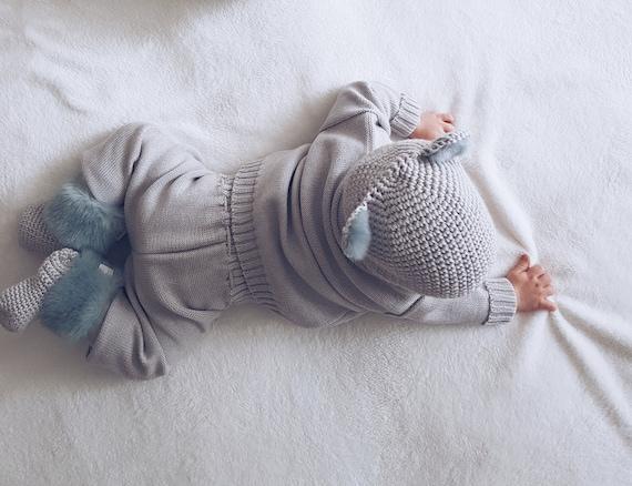 Gray trousersBabies knitted wool Pantsleggingstoddlerswool leggingsbluewarmthickchunky baby trousers