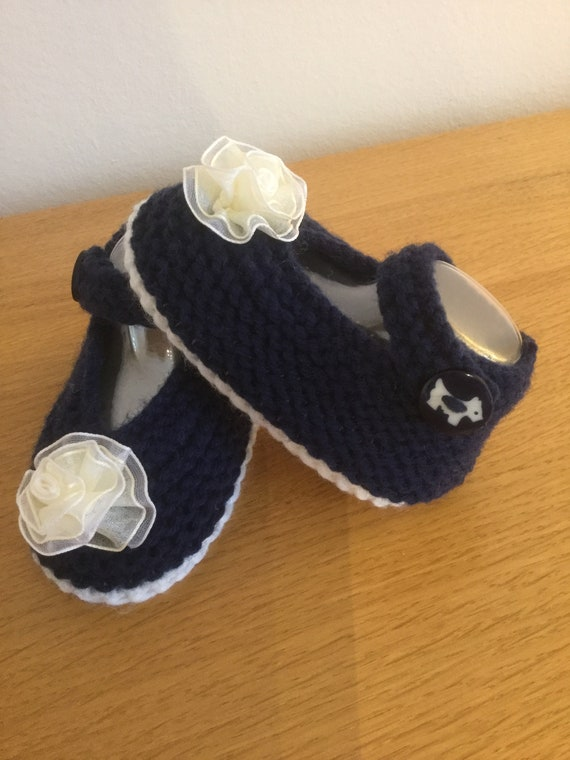 Hand Knitted Baby Shoes Baby Shower