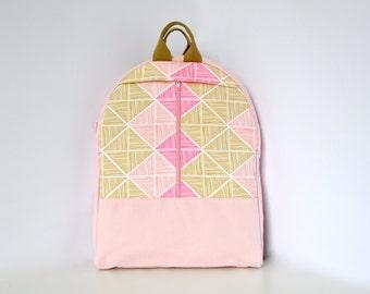 NEW, canvas backpack, canvas bag, pastel pink bag, laptop backpack, canvas rucksack, cotton canvas bag, cotton canvas backpack