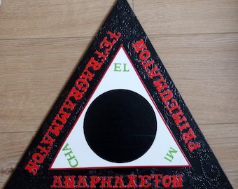 Goetia Evocation Triangle 18""