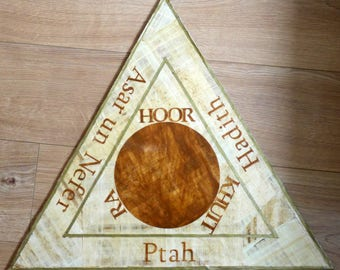 Papyrus Goetia Evocation Triangle | Solomonic Magic | Evocation Triangle | Triangle of Art