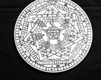 Sigillum Dei Aemeth | Enochian Magic | Enochian Magick | Seal of God | John Dee (4)