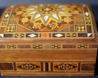 Syrian Jewellery Box
