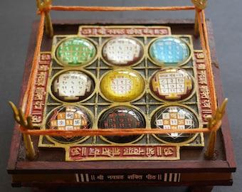 Large Navgrah Chowki | Navgarah Chowki | Indian Astrology | Hindu Astrology | 9 Planets | Enochian magick