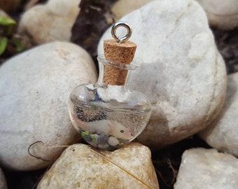 Alotl love axolotl necklace