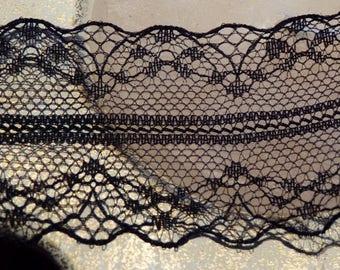 Beautiful lightweight Ribbon Black Lace (20)