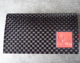 Rare So Chic fabric checkbook cover