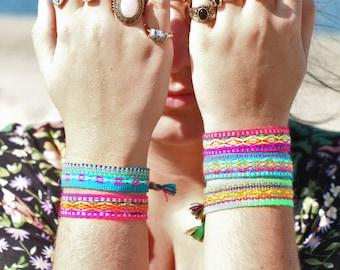 IBIZA Freundschaftsarmband passed zum Halsband deines Prunkhundes! Hippie Armband in verschiedenen Farben