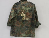 Dog lover jacket - handfinished in Germany -