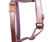 Stylish dog harness PASTEL POWDER  - handmade in Germany