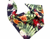 Dog bandana  TROPICAL GARDEN -handmade