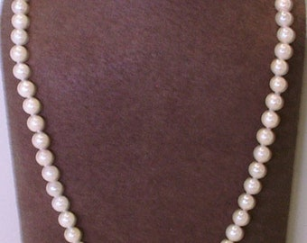 Brand New 5.6mm Pearl 14K Gold 18 Inch Necklace/Strand of Pearls