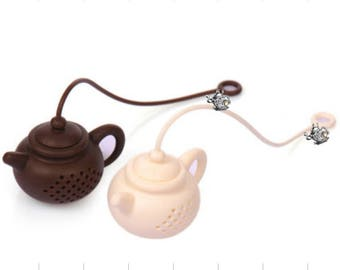 TeaPot Tea Infuser with Charm