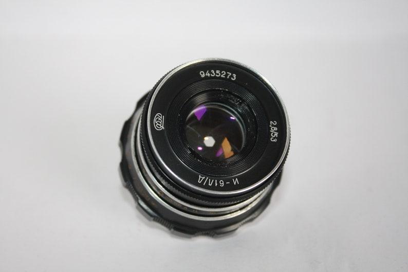 Vintage Tested Soviet lens Industar 61 L/D M39 for FED, Zorki, Leica, Sony  Nex,Canon,Nikon,Sony macro,Camera USSR 2,8/53,Good Bokeh!6 petals