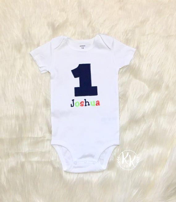 Boys First Birthday OutfitBoys Shirt Baby Boy