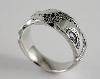 Men's silver band ring, men's nautical silver ring, mens ring, mens wedding band, large ring size, mens alliance, men's engagement ring