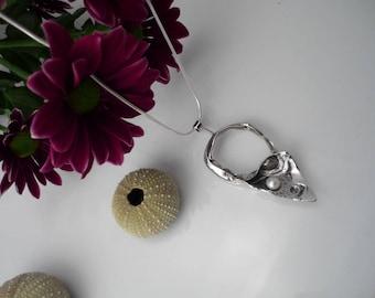 Unique sea storm sterling silver pendant