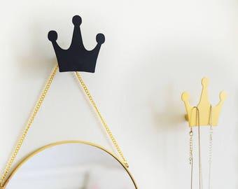 Crown Wall hook / Wall hooks / Scandinavian Christmas / Crown wall decor