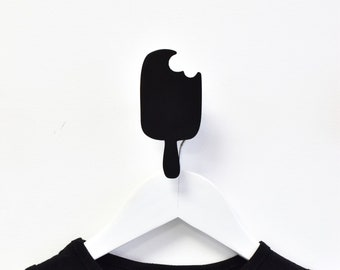 Ice Cream Wall Hook, Modern Kids Wall Hanger, Scandinavian Design