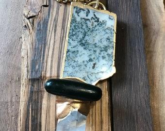 Quartz Agate Necklace